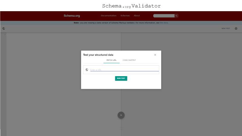 Schema Validator screenshot