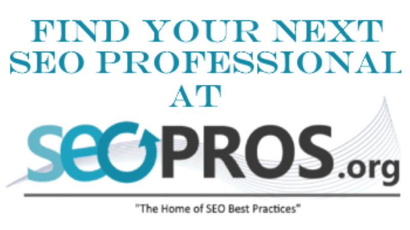 SEO Pros Directory & Professional Development Community